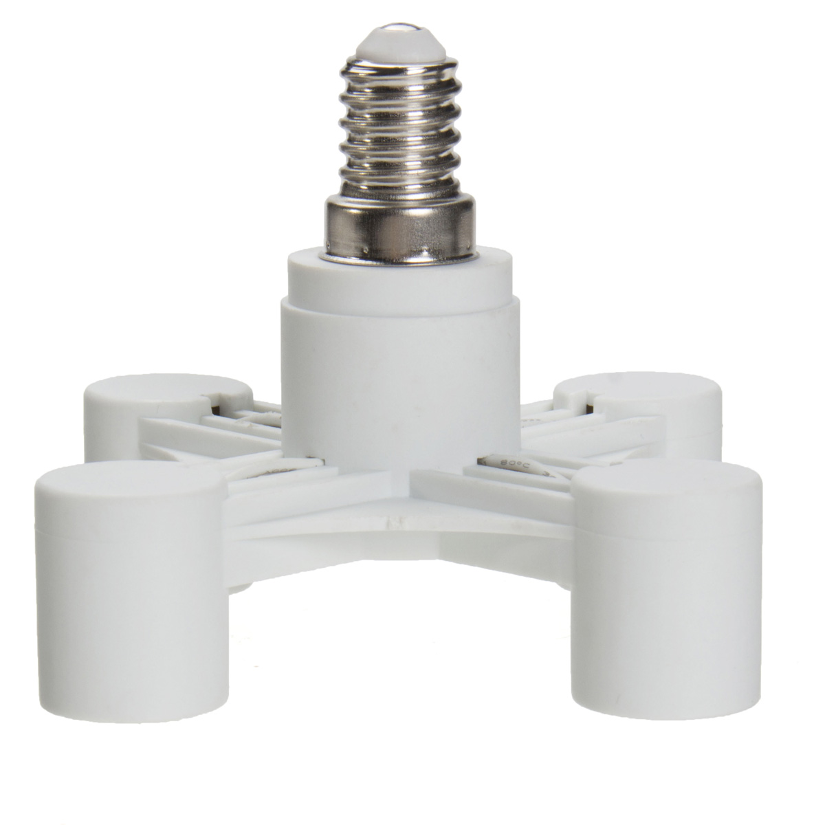 E14 E27 Adapter 4 In 1 E14 E27 Saving Power Light Lamp Bulb Base Adapter
