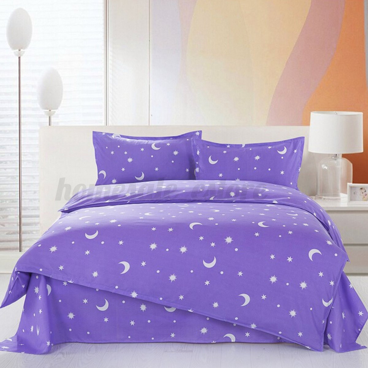 Purple Mattress Australia All Size Duvet Cover With Pillow Case Quilt Cover Bedding