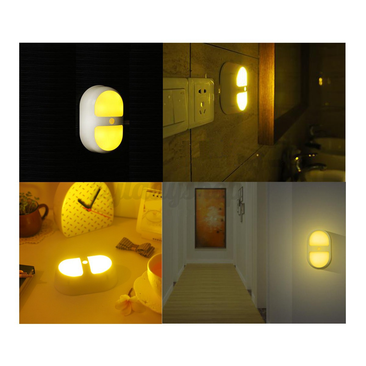 Bedroom Lamps With Night Light Sensor Night Light Wireless Led Human Motion Lamp Ceiling