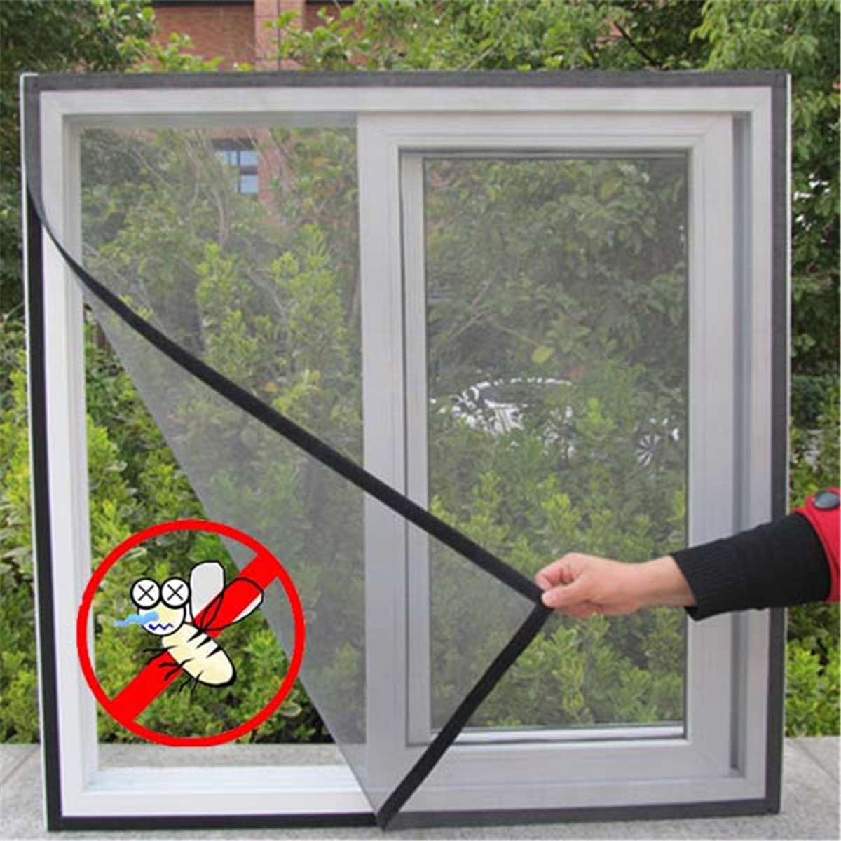 Diy Mosquito Net For Windows Window Insect Screen Mesh Net Bug Fly Mosquito Netting