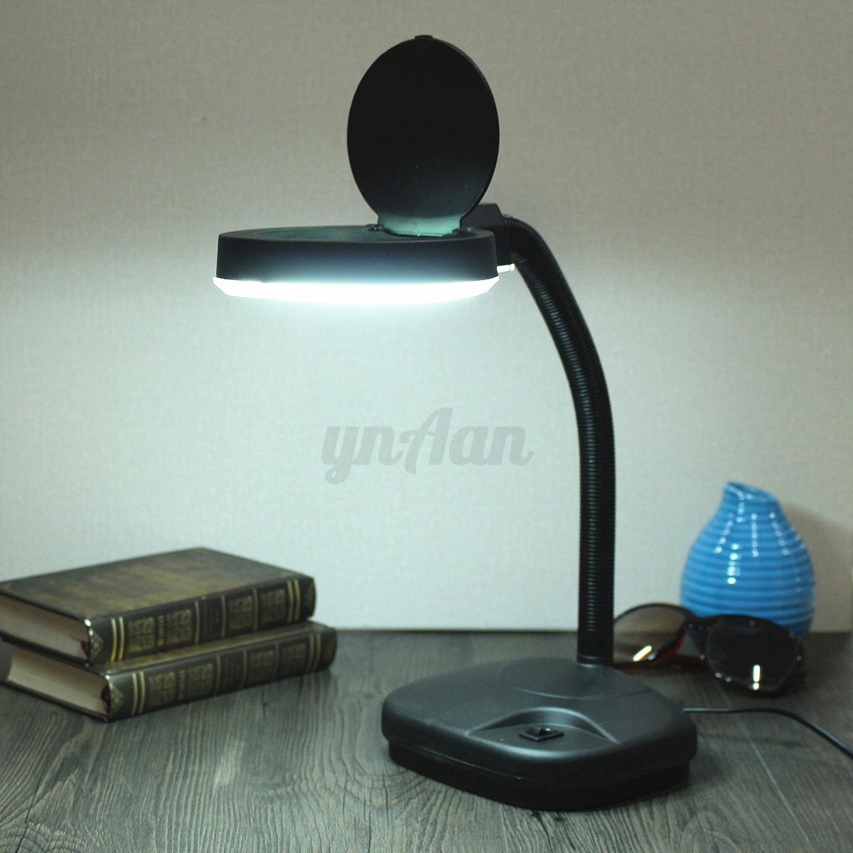 Study Table Light Flexible 5 10x Magnifying Magnifier Glass 43 Reading Study