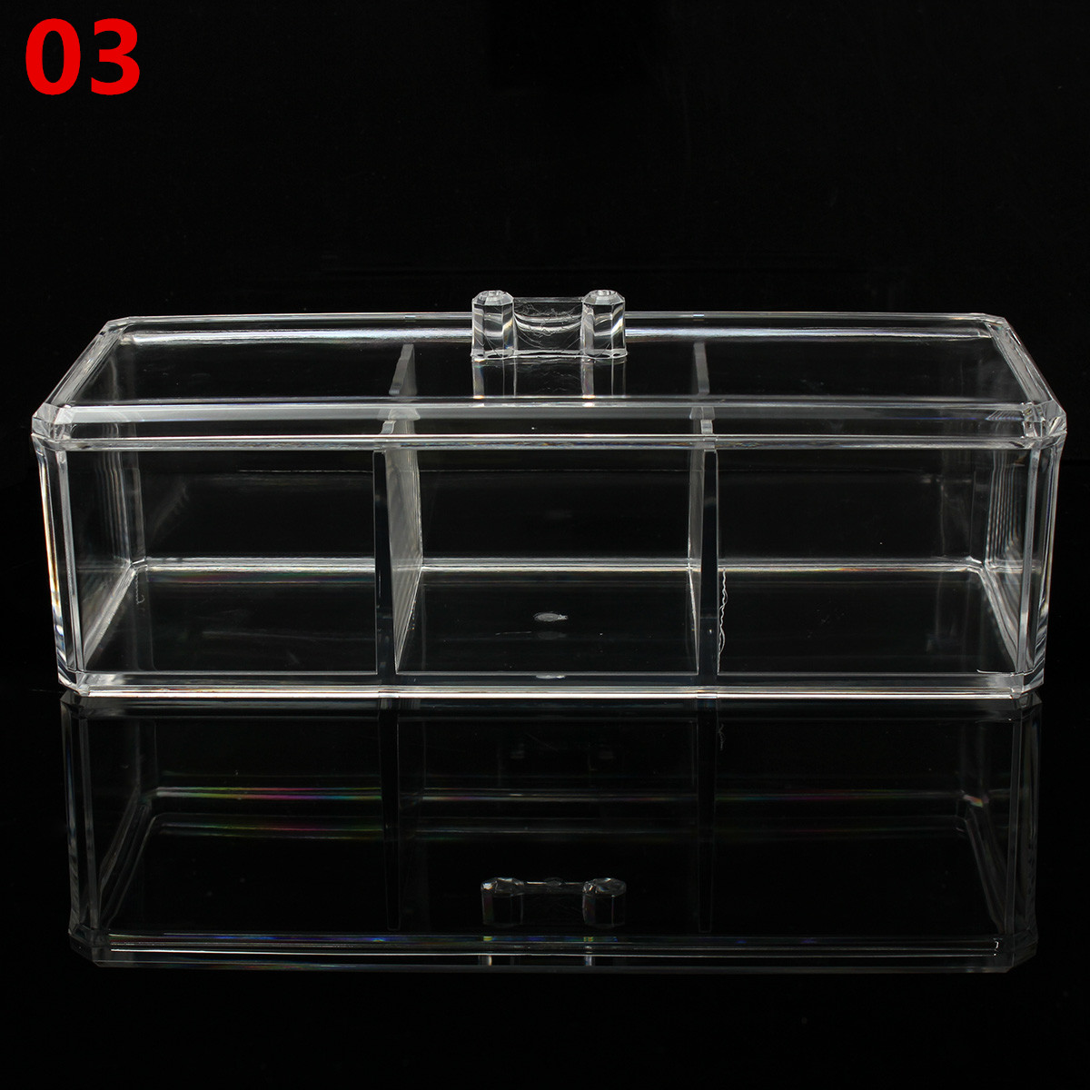 Clear Display Boxes Clear Acrylic Makeup Cosmetic Display Jewelry Organizer