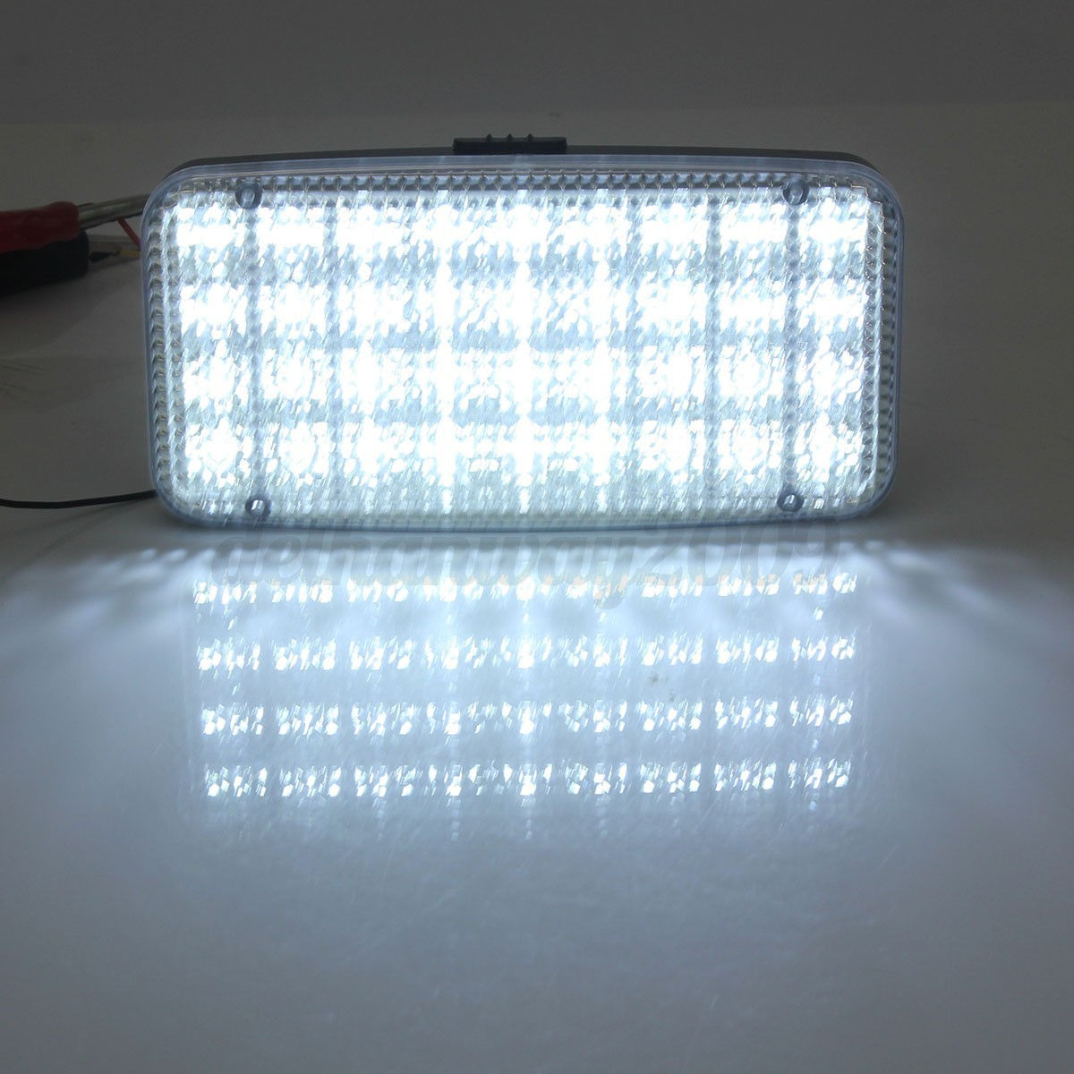 Auto Interieur Lamp 12v 36 White Led Ceiling Dome Roof Interior Light Lamp For