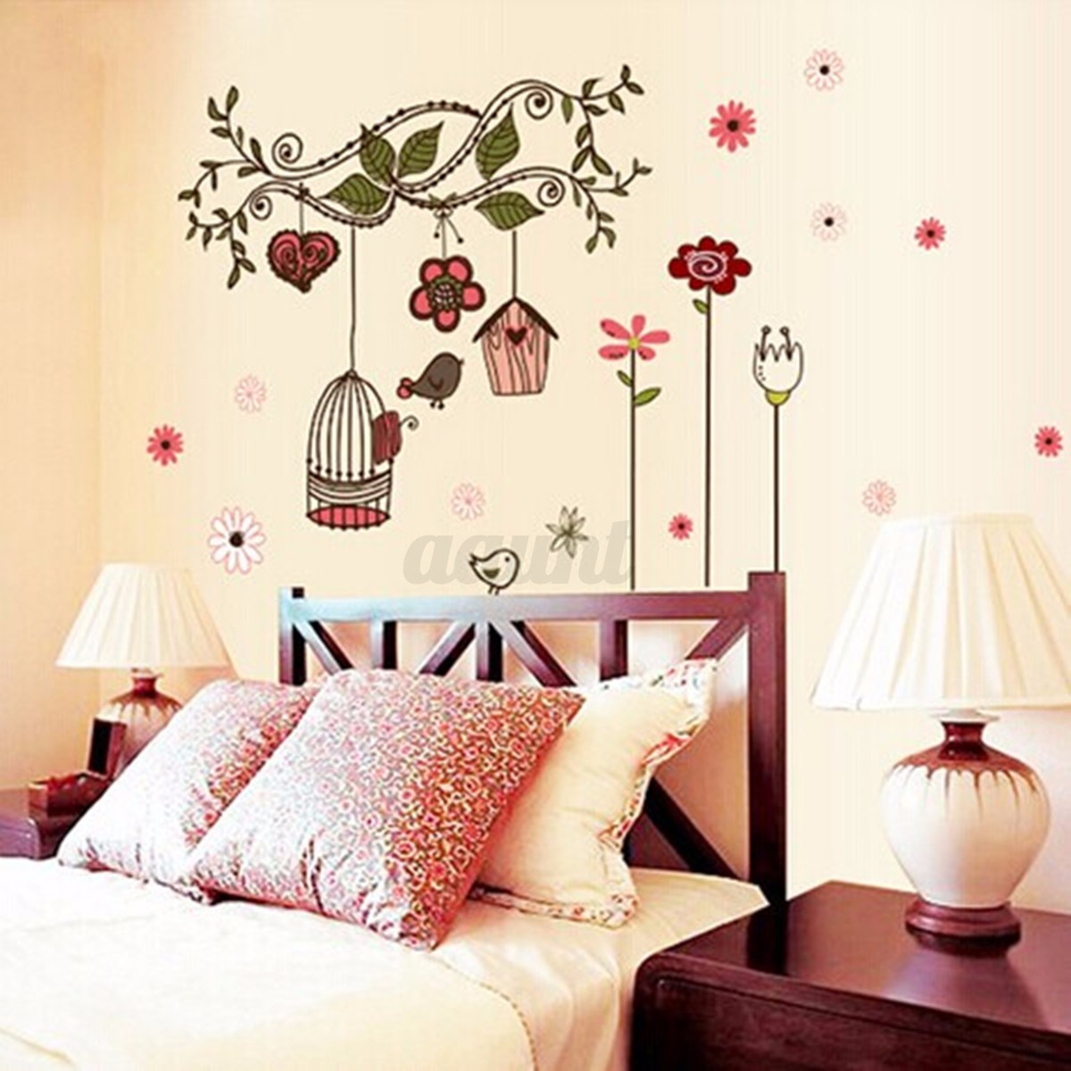 Bedroom Wall Art Trees Diy Removable Tree Wall Decals Kids Bedroom Baby Nursery