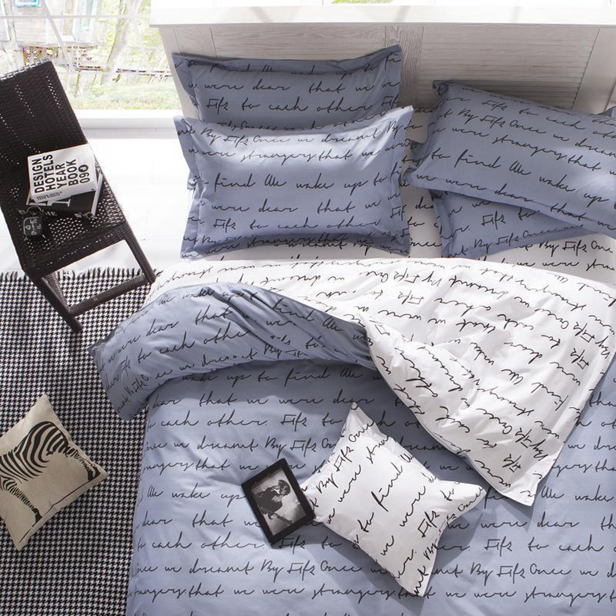 King Queen Bettwäsche Duvet Quilt Cover Bedding Set Single Double Queen King