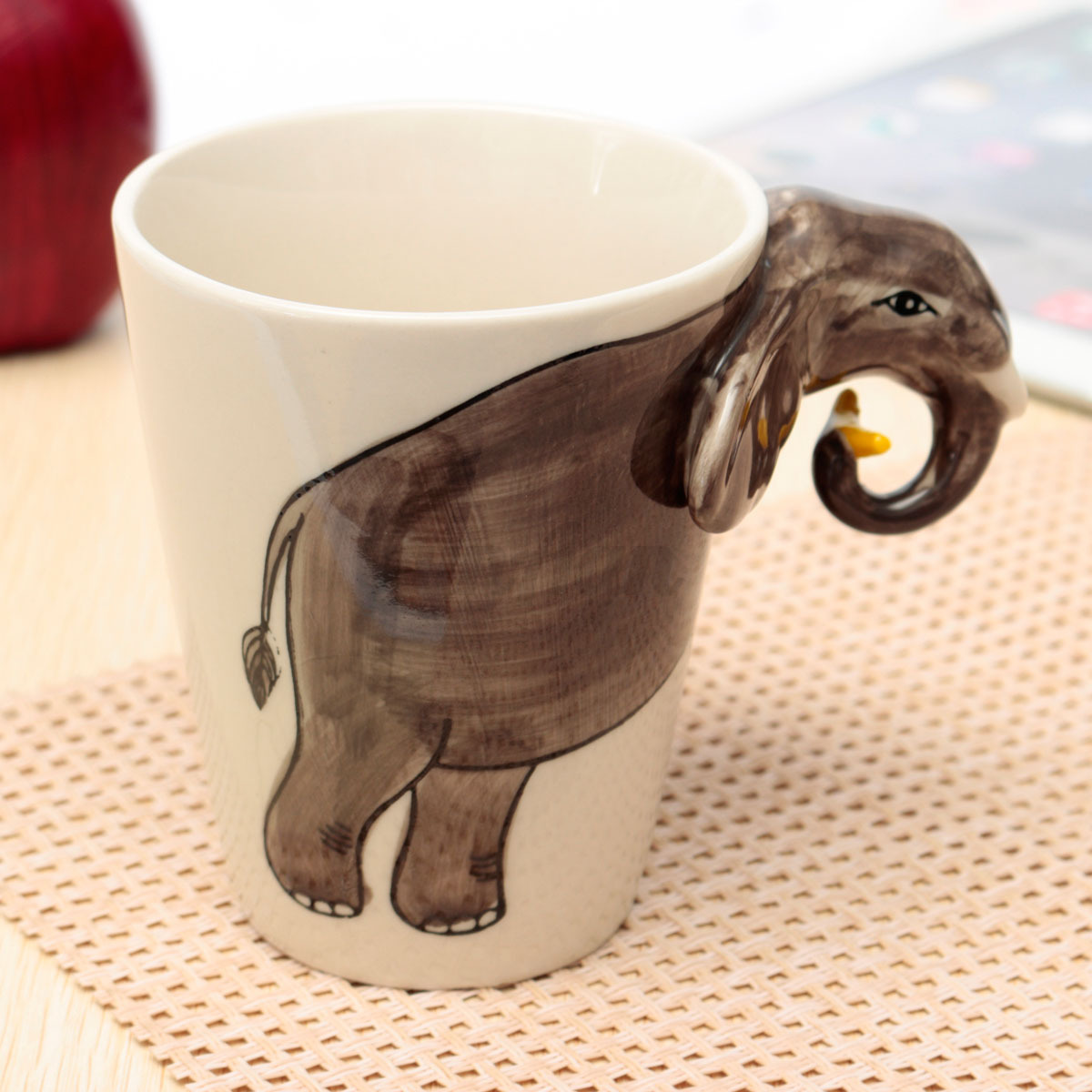 Animal Coffee Mug Cute 3d Hand Painted Animal Design Ceramic Tea Coffee
