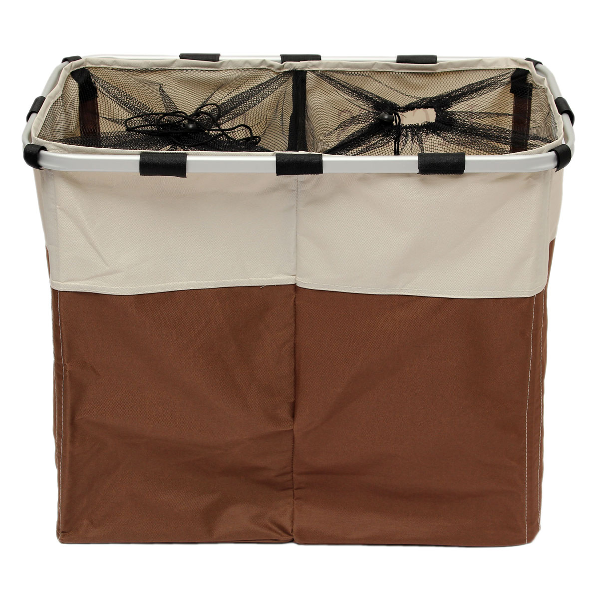 Clothes Hampers For Sale Double Folding Laundry Washing Clothes Basket Bag Bin