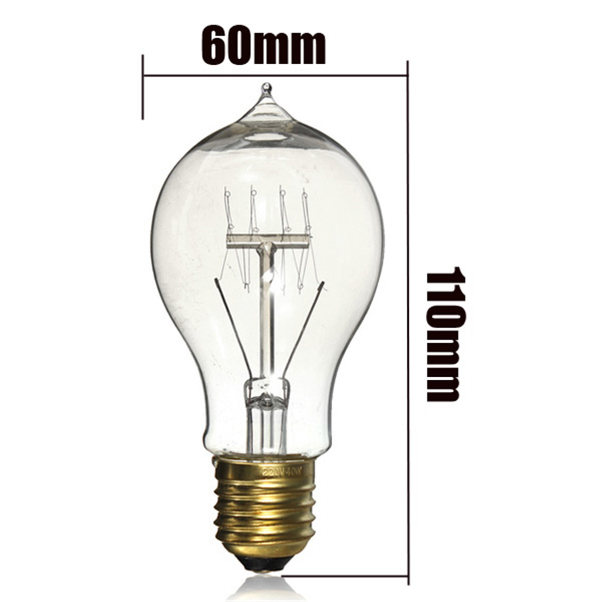 E27 E14 E27 E14 B22 Retro Edison Lamp Antique Industrial Filament