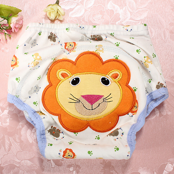 Baby Pram Pillow Baby Boy Girl Pee Potty Training Diaper Pants Cloth Nappy