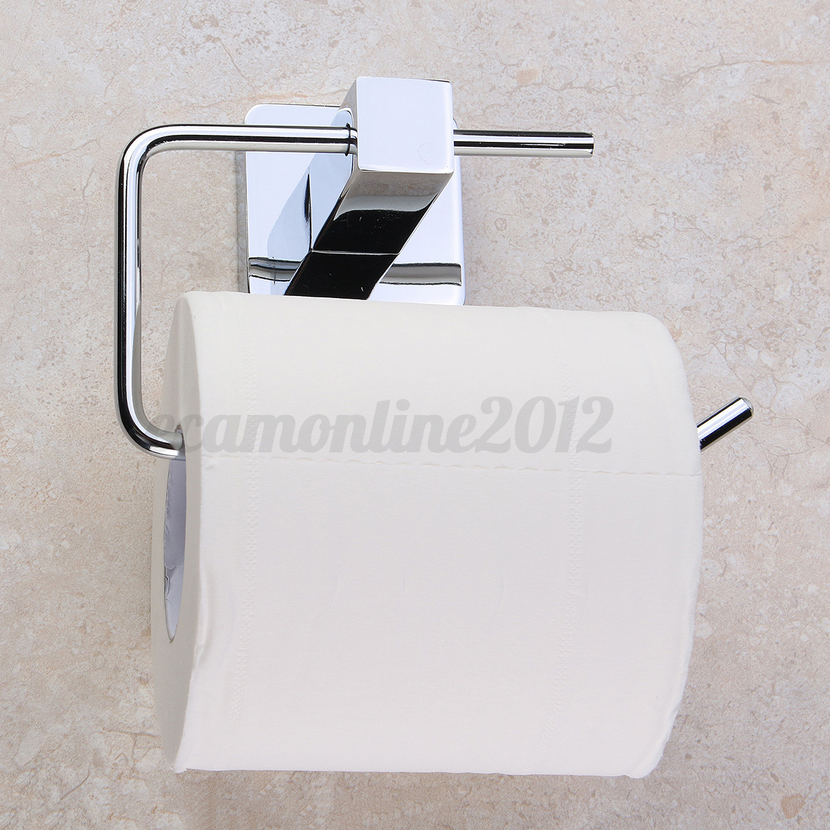 Bathroom Toilet Holder Stainless Steel Chrome Bathroom Toilet Paper Roll Tissue