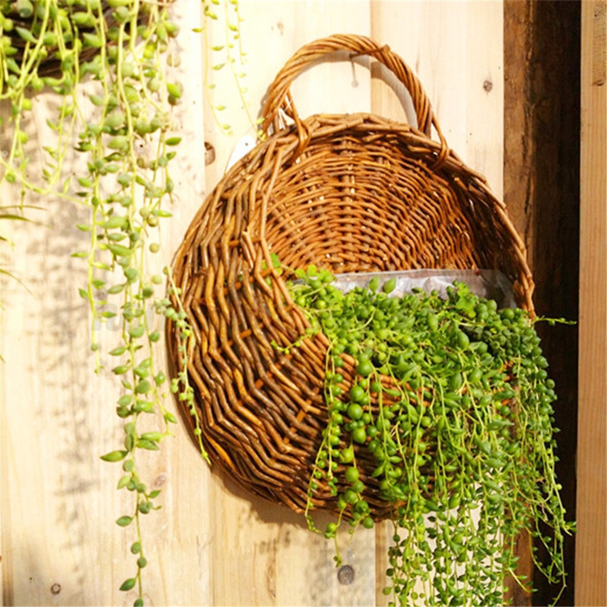 Outdoor Wall Hanging Planters Flower Planter Wall Hanging Basket Garden Outdoor Indoor