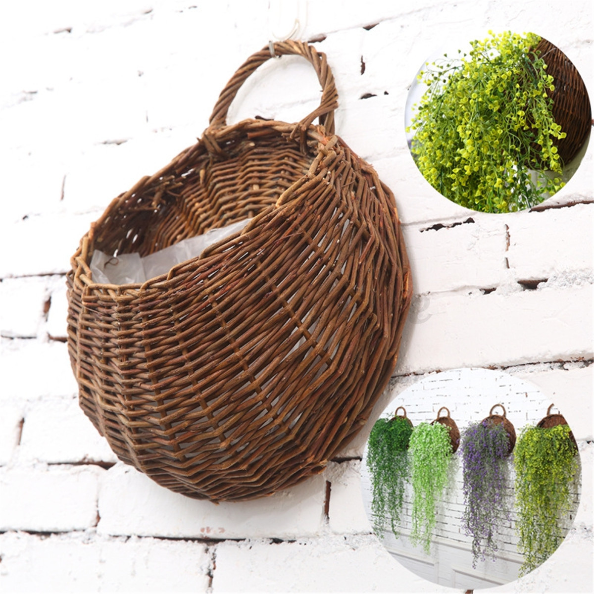 Hanging Planters Australia Flower Planter Wall Hanging Basket Garden Outdoor Indoor
