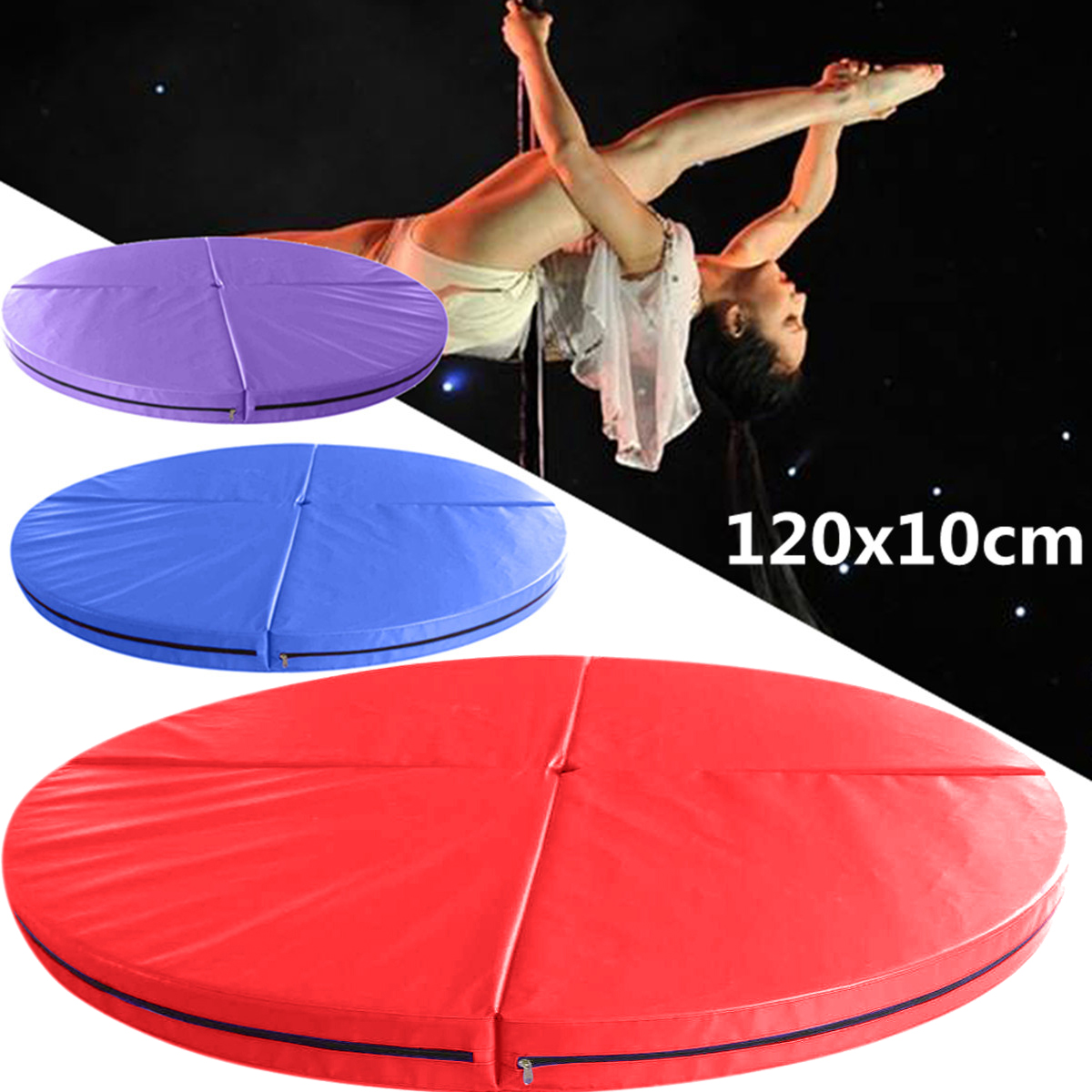 Crash Mats Australia Details About 120x10cm Foldable Pole Dance Mat Yoga Exercise Safety Dancing Cushion Crash Mat