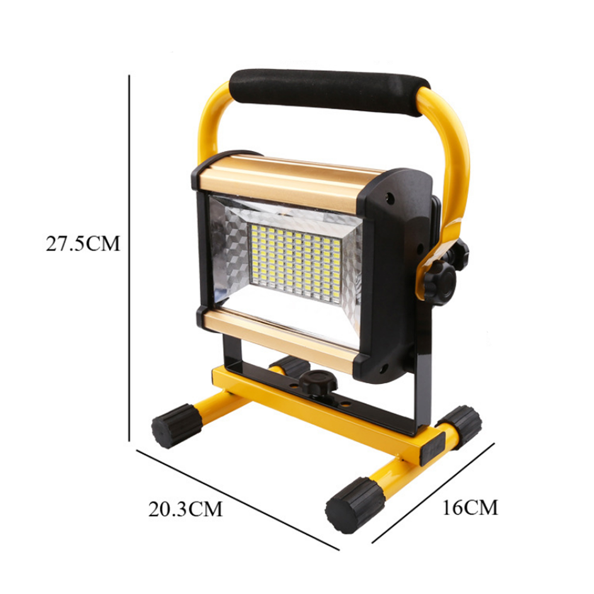 Lampe Led Exterieur Portable 100w 100 Led Projecteur Portable Rechargeable Lampe