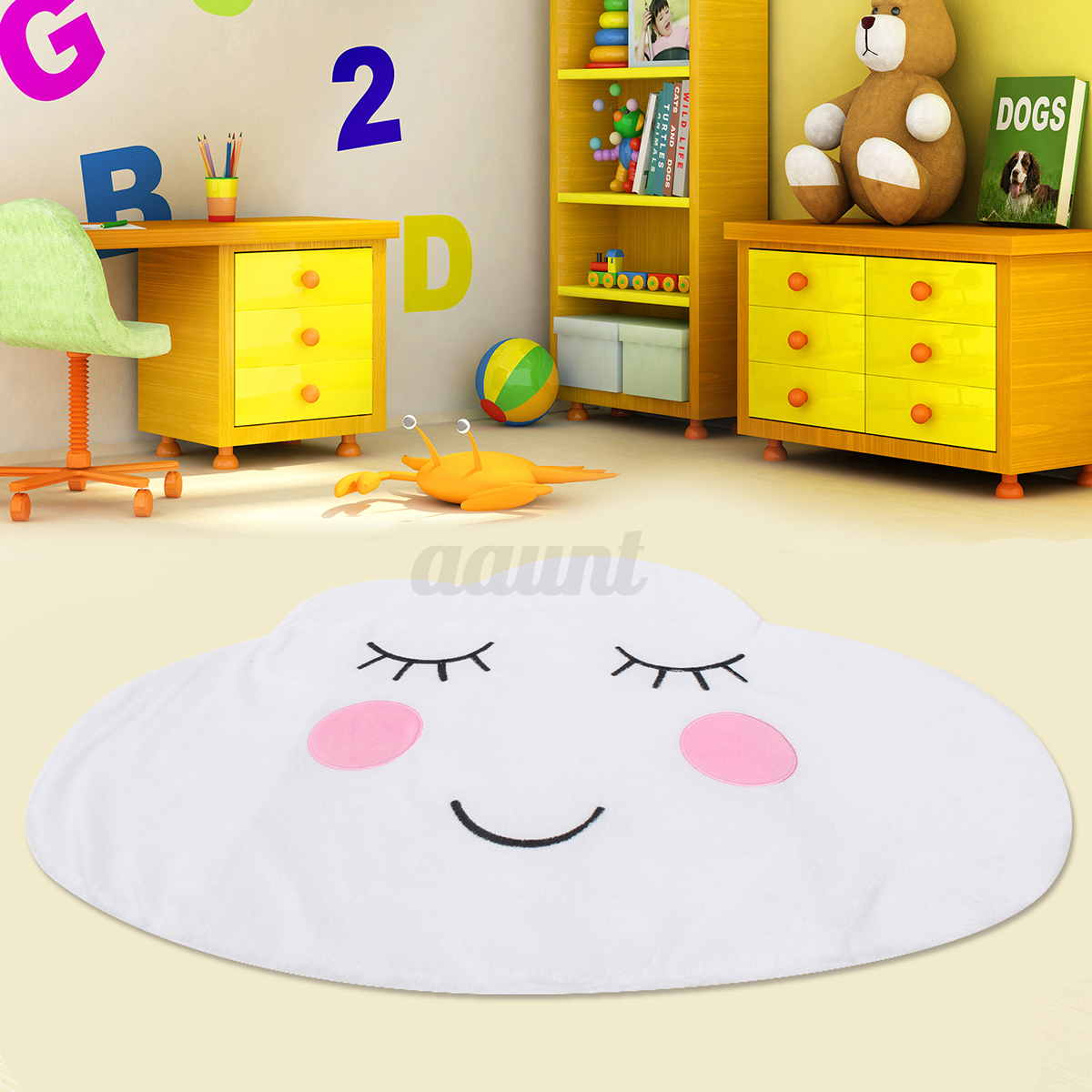 Rugs For Children's Rooms Cotton Kids Bedroom Carpets Nursery Play Mats Childrens