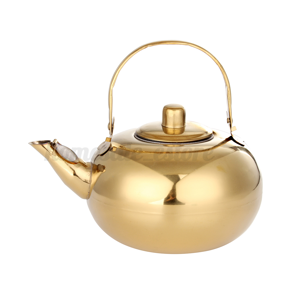 Tea Kettle With Strainer Gold Stainless Steel Tea Pot Kettle Tea Strainer Set