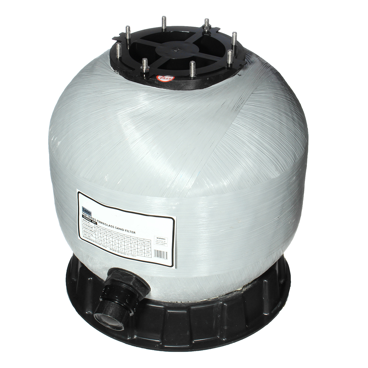 Filteranlage Pool 50m3 Details About Swimming Pool Fiberglass Sand Filter Tank Or Filter Valve Top Mount System
