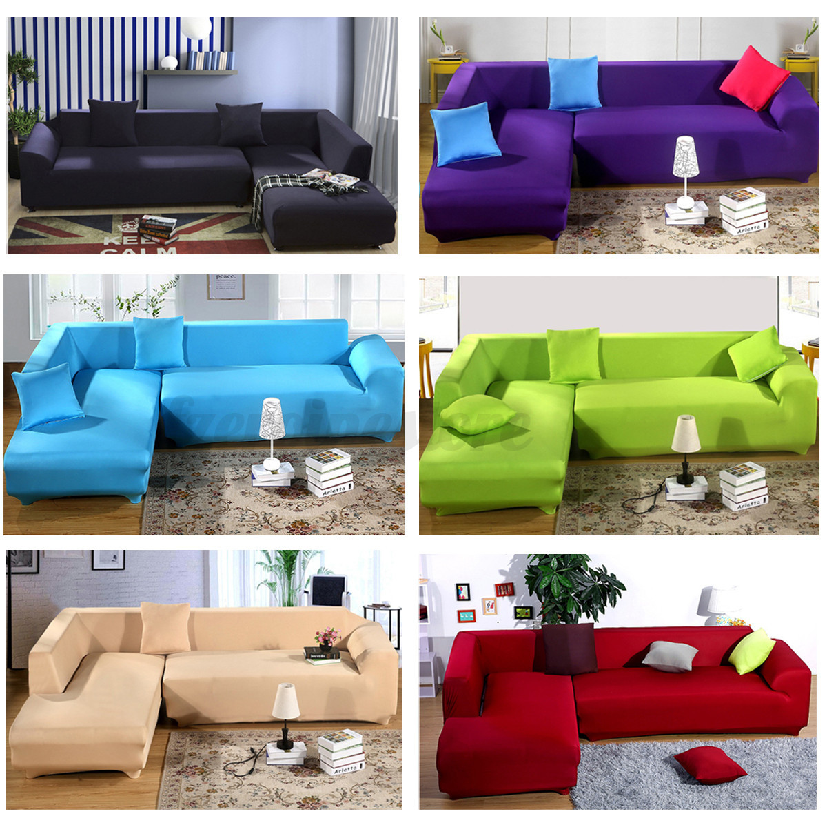 Sofa Set Covers For L Shape L Shape Stretch Chair Sofa Covers 4 Seater Protector Couch