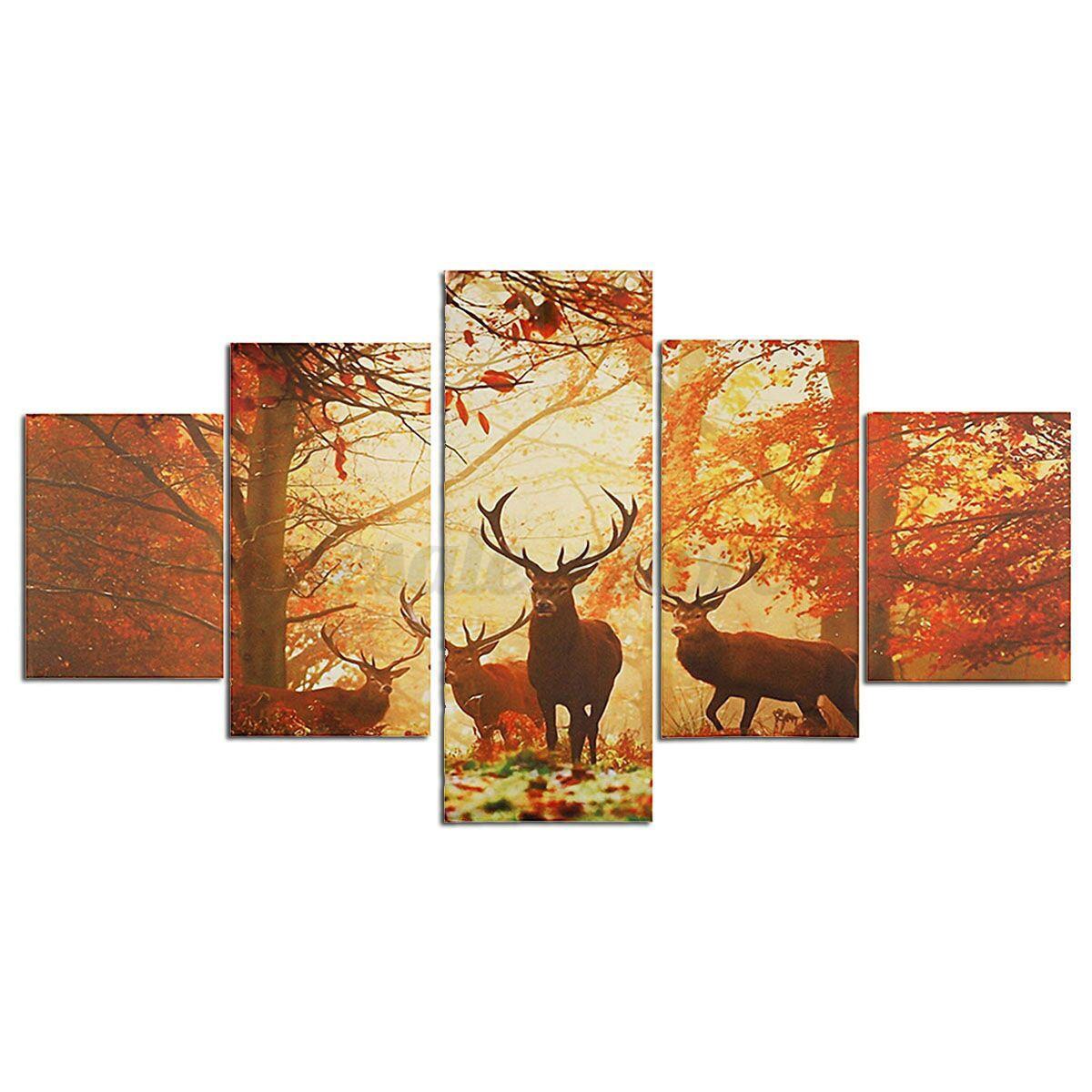 Canvas Wall Prints Hd Canvas Print Modern Scenery Animal Wall Art Oil