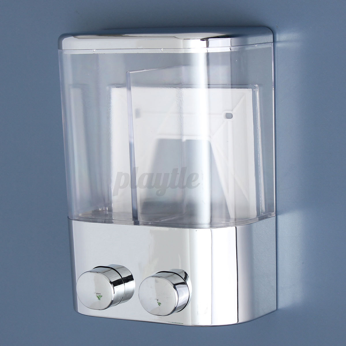 Soap And Shampoo Dispensers For Showers Double Wall Mount Soap Shampoo Shower Gel Dispenser Liquid