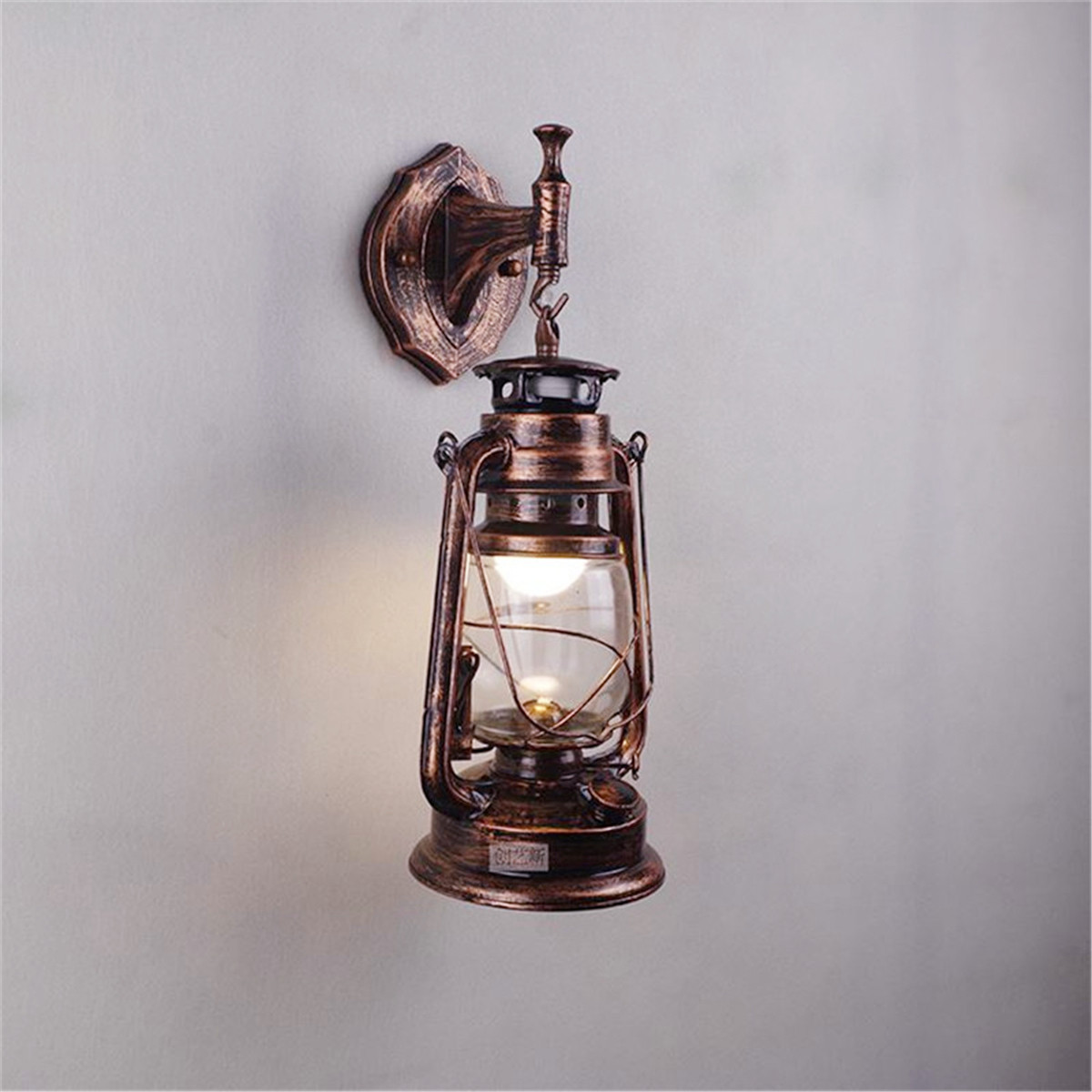 Laterne Außen E27 Antique Retro Wall Light Vintage Thrift Exterior