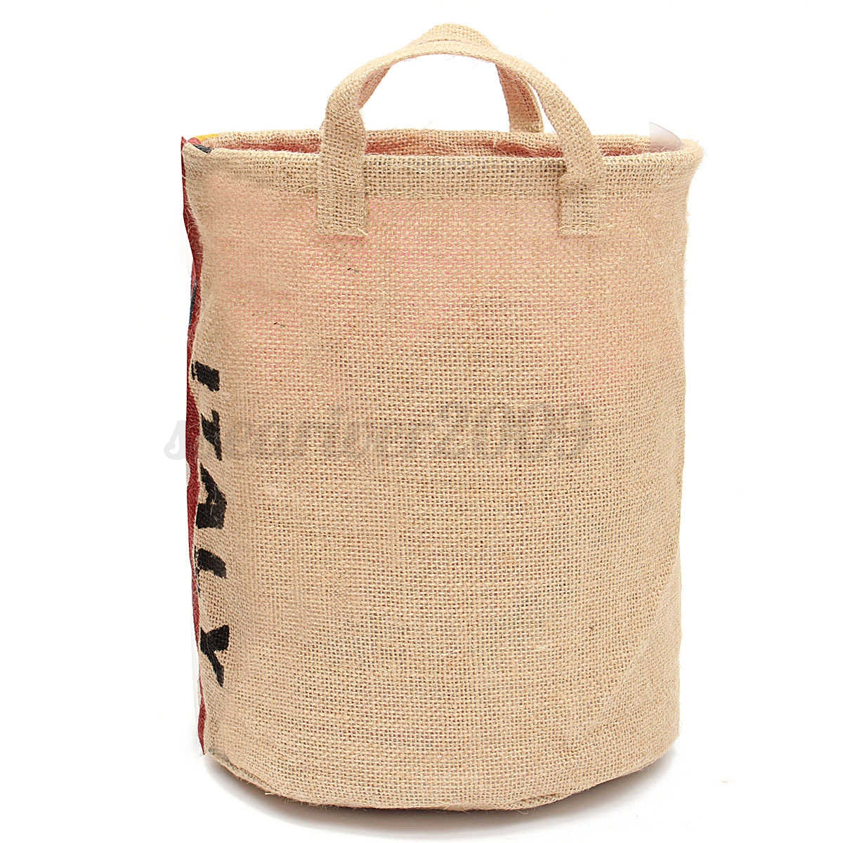 Canvas Hamper Bags Foldable Waterproof Canvas Washing Clothes Laundry Basket