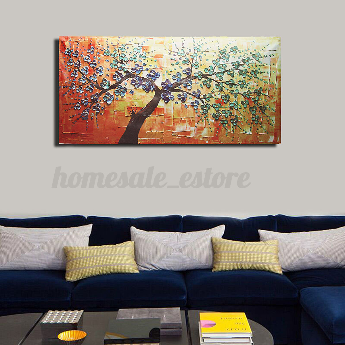 Canvas Wall Prints Modern Abstract Canvas Print Painting Picture Wall Mural