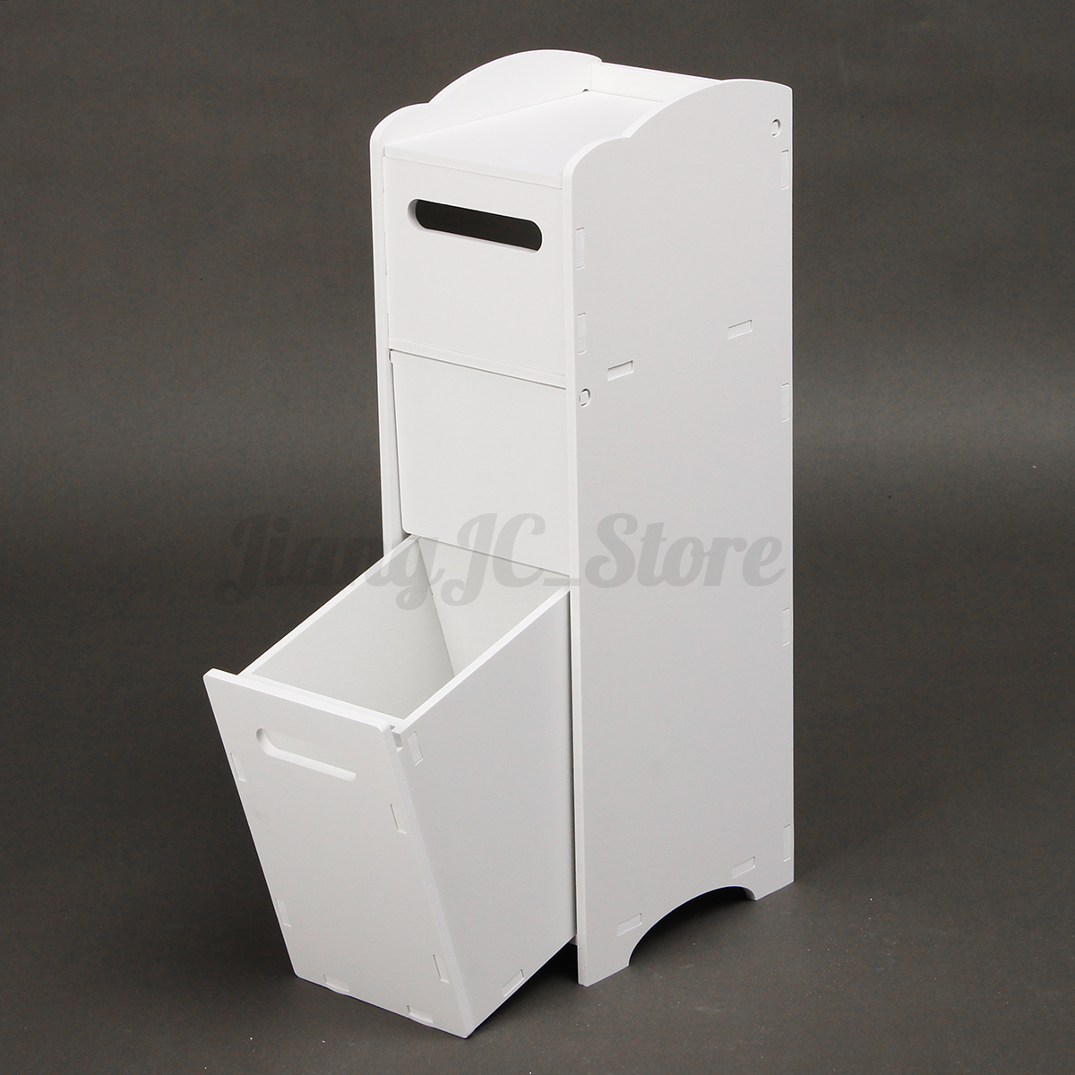 Space Saving Toilet Paper Holder Wood Plastic Toilet Tissue Paper Roll Holder Bathroom