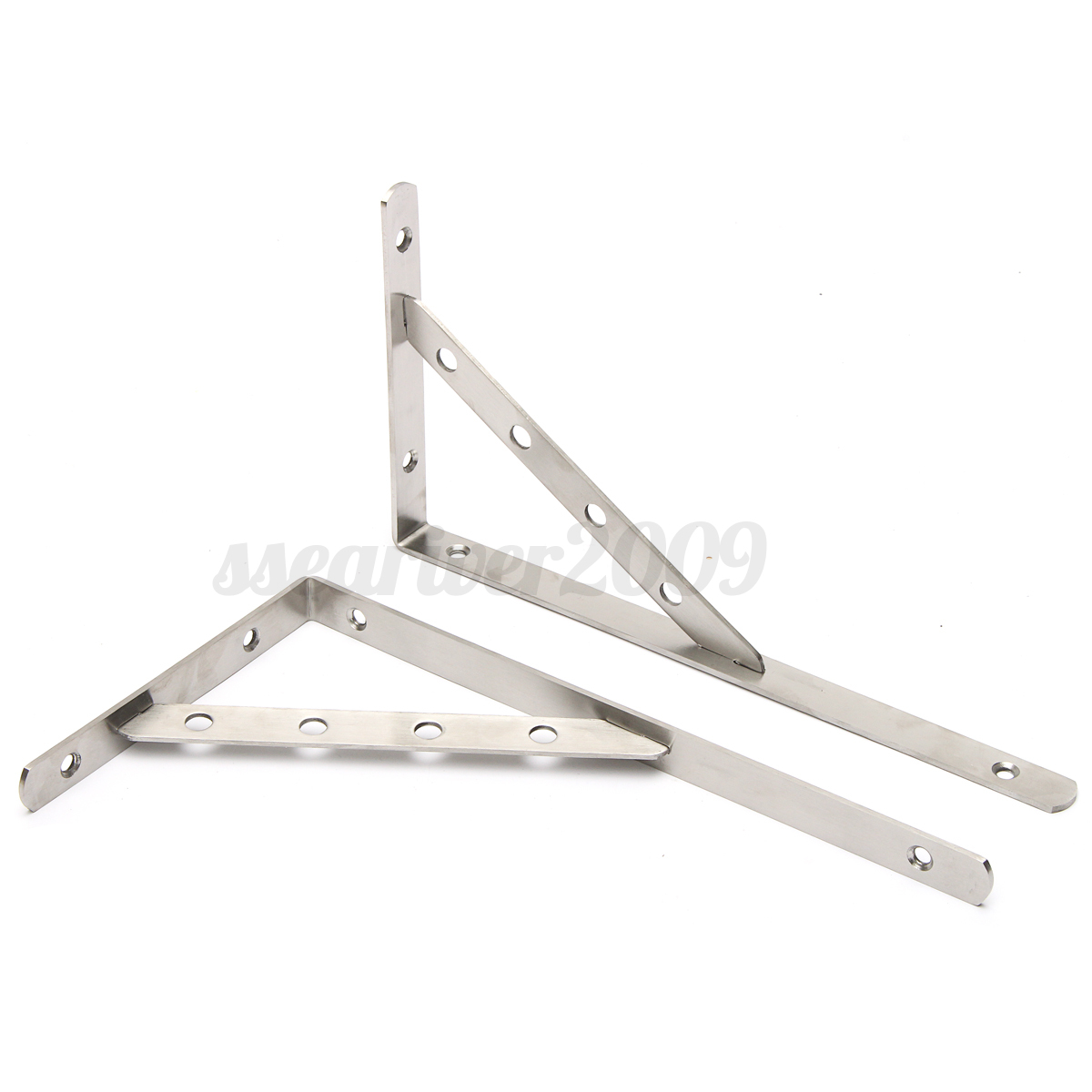 Angle Wall Shelf 1 Pair Stainless Steel Wall Shelf Brackets L Shaped Right
