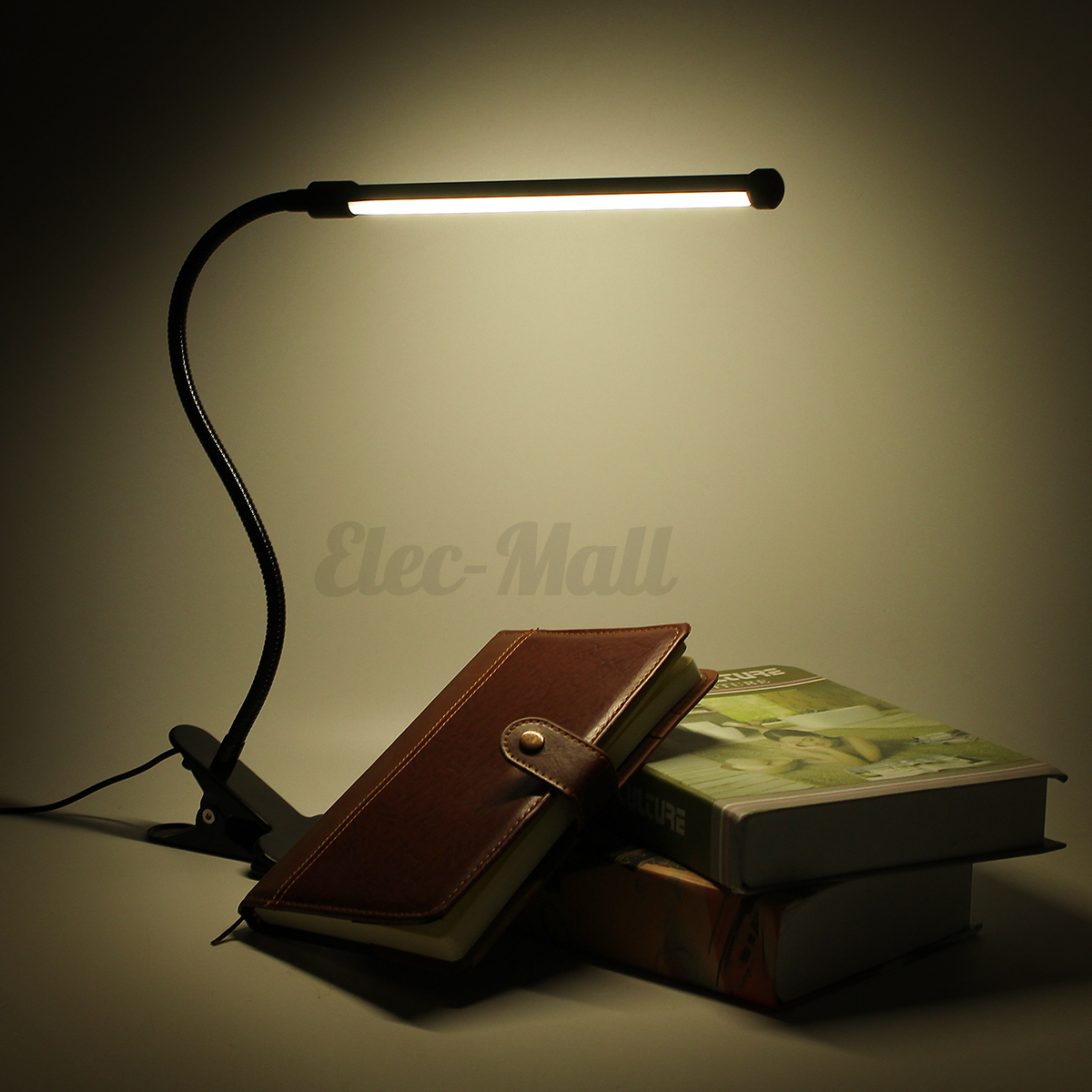 Study Table Light Flexible Usb Clip On Table Lamp Led Clamp Reading Study