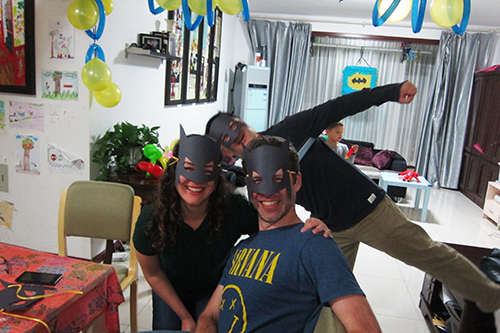 Expat kids birthday party