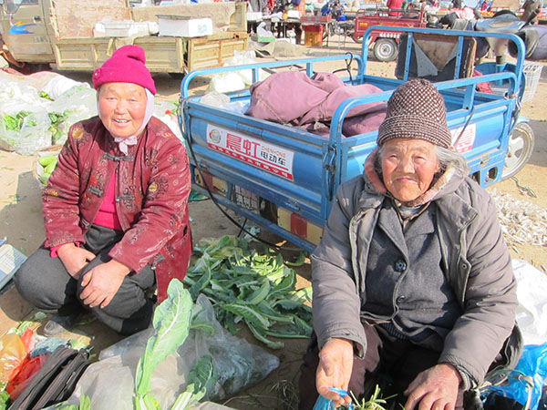 haiyang qingdao farmers market expat
