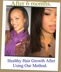 Hair Growth After Using Micro-bead Extensions!  Qlassy ...