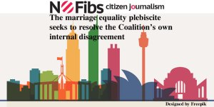 The marriage equality plebiscite seeks to resolve the Coalition's own internal disagreement