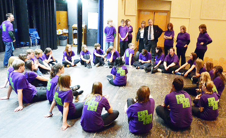 Tv Board High Schools Join Together For Anti-bullying Play
