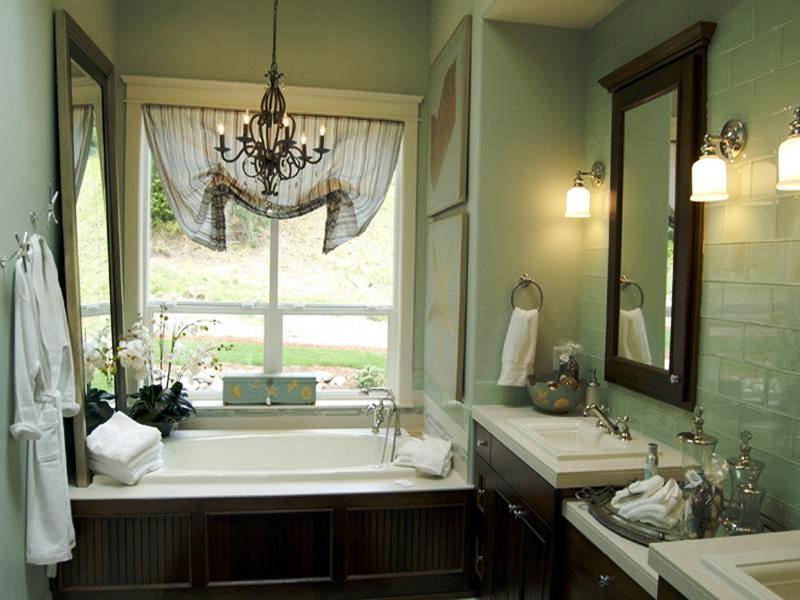 Small Bathroom Window Treatment Ideas (6683) - bathroom window curtain ideas