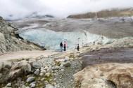 Kurz vor dem Gletscher