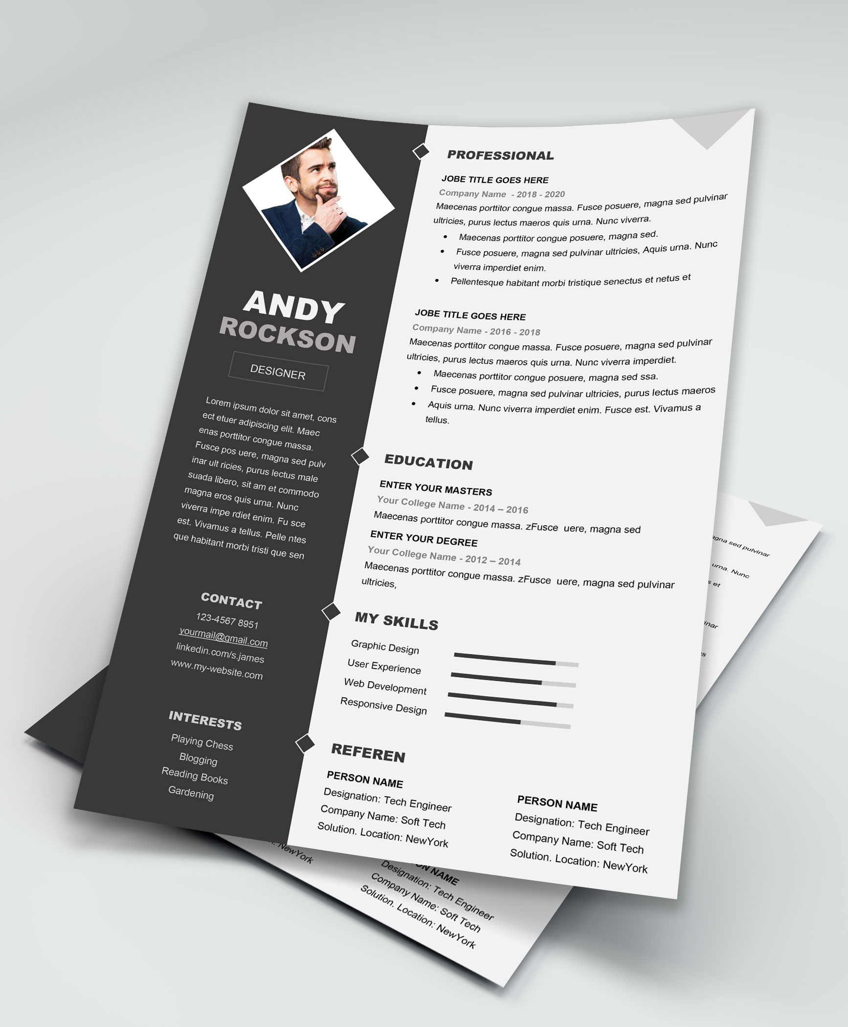 Microsoft Word Resume Template Where Can I Find The Best Resume Templates For Ms Word Quora