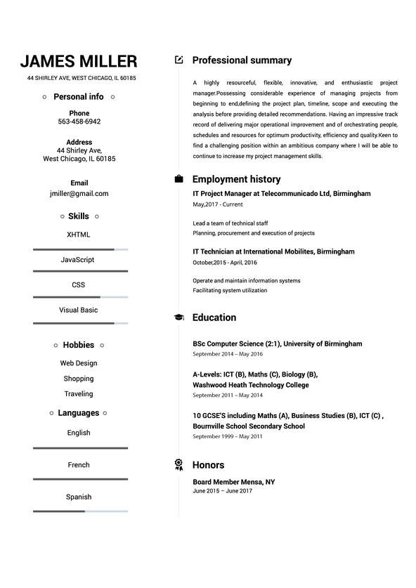 examples of the best skills to include on resumes