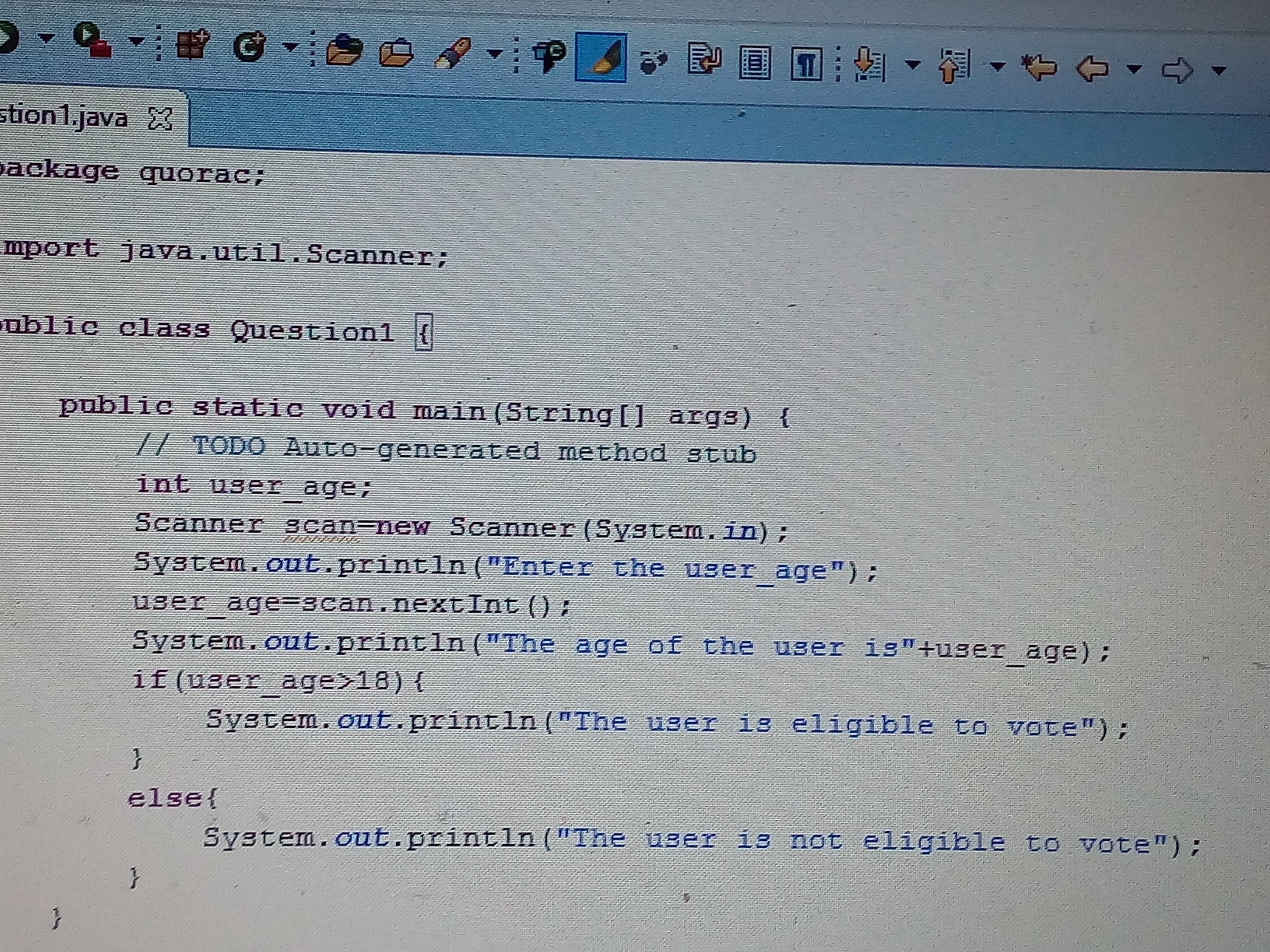 Out Java From Whats The Simplest Way To Write A Java Program To Check Whether