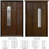 What are the standard dimensions for a double door? - Quora
