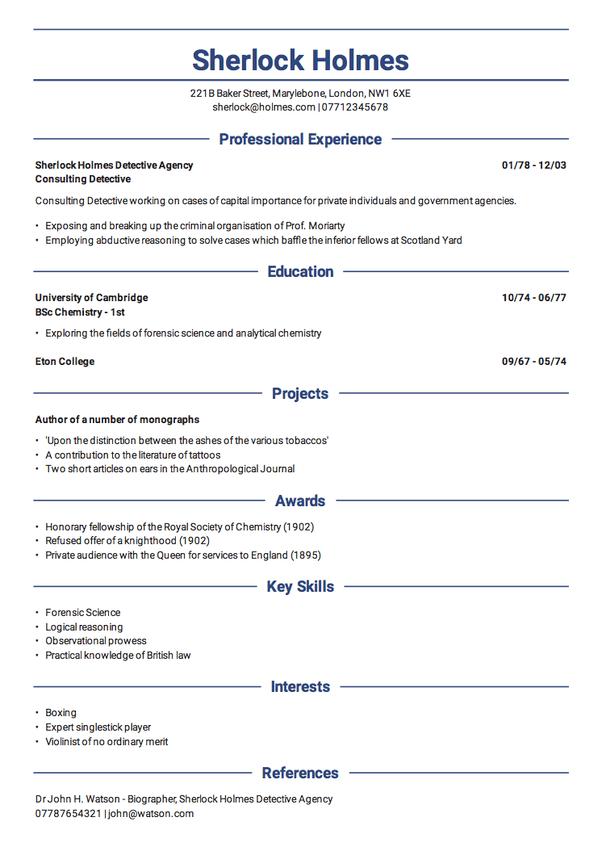 resume builder free quora