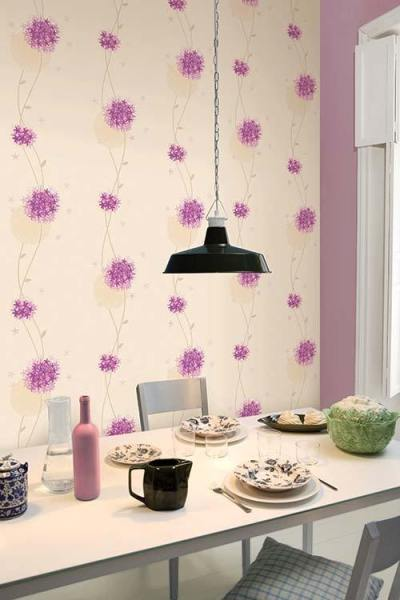 Should I put shiny wallpaper on accent walls in my dining room? - Quora