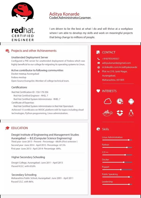 mooc on resume example