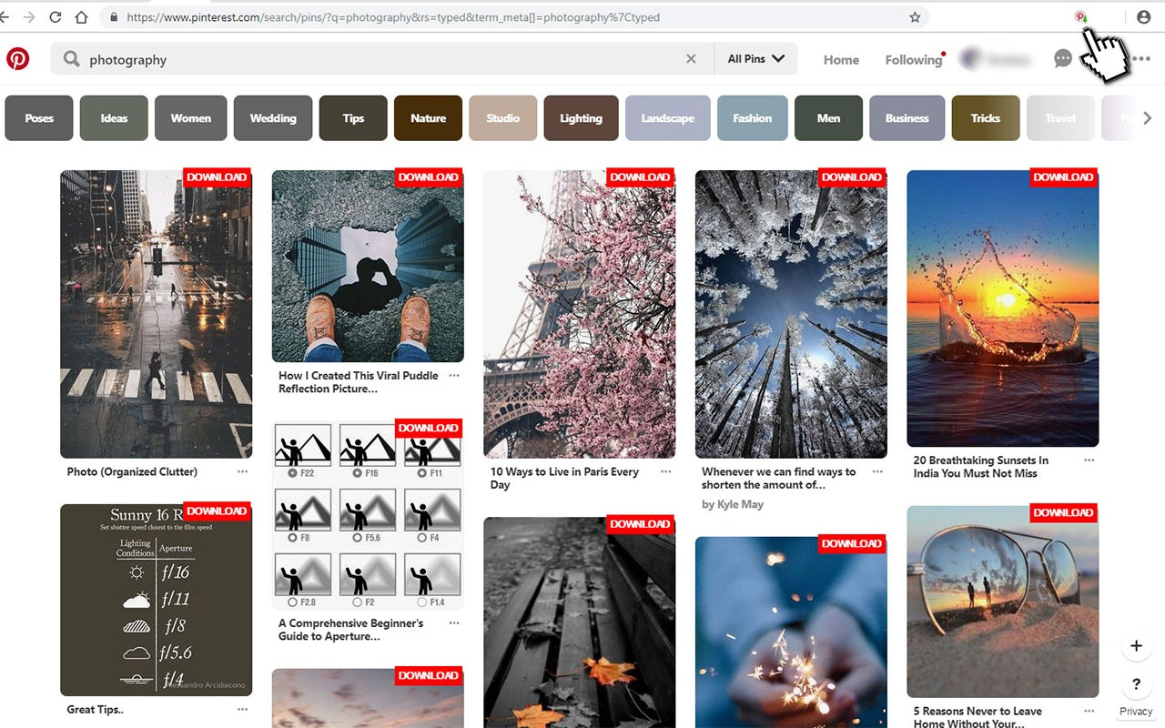 Pinterest Site Gratuit How To Download Pinterest Images In High Resolution Quora