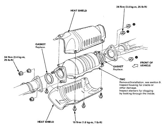 wiring diagram for catalytic converter