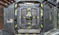 Why do spaceships often have polygonal doors or hatches in ...