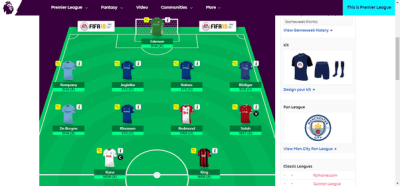 What is your best fantasy football manager (fantasy premier league) 2017/2018 team? - Quora