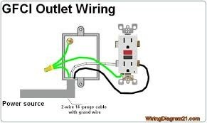 wiring two outlets with three wires coming in