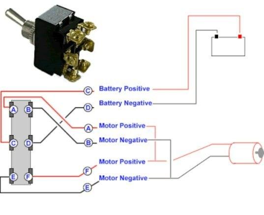 6 pole momentary rocker switch wiring diagram